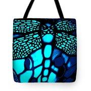 Blue Imitation  Tote Bag