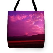 Blue In Bonners Ferry Tote Bag