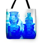 Blue In The Face Tote Bag