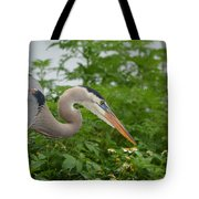 Blue In The Greens  Tote Bag