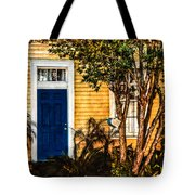 Blue In The Tropics Tote Bag