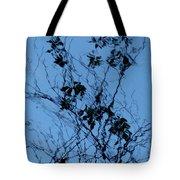 Blue Ink Tote Bag
