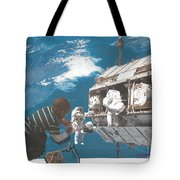 Blue Is My World Tote Bag