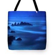 Rock Of Blues Tote Bag