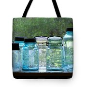 Blue Jars Tote Bag