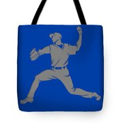 Blue Jays Shadow Player1 Tote Bag