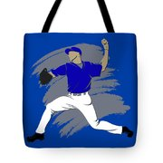 Blue Jays Shadow Player3 Tote Bag