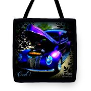 Blue Jewel Art Tote Bag