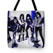 Blue Kiss Tote Bag