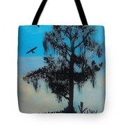 Blue Kite Sunset Tote Bag