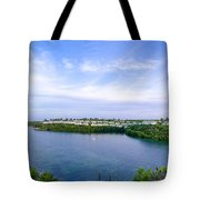 Blue Lagoon Cottages Tote Bag
