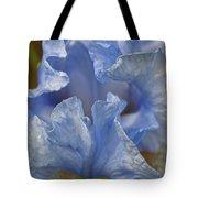 Blue Lilac Iris Tote Bag