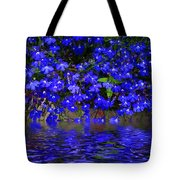 Blue Lobelia Tote Bag