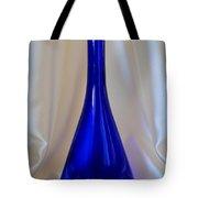 Blue Long-necked Bottle Tote Bag