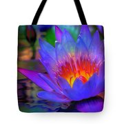 Blue Lotus Tote Bag