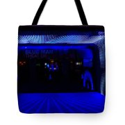 Blue Man Group Theater Tote Bag