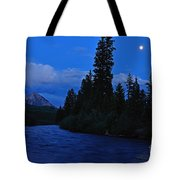 Blue Missing You Tote Bag