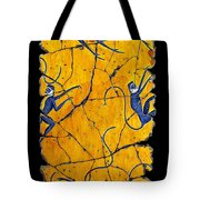 Blue Monkeys No. 41 Tote Bag