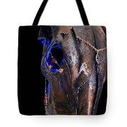 Blue Moo Tote Bag
