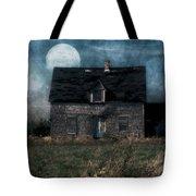 Blue Moon Rising Tote Bag
