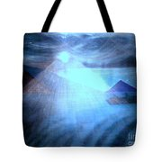 Blue Moon Sailing Tote Bag