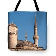 Blue Mosque 02 Tote Bag