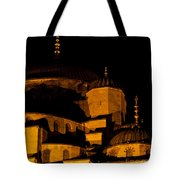 Blue Mosque At Night 02 Tote Bag