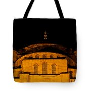 Blue Mosque At Night 03 Tote Bag