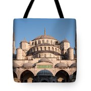 Blue Mosque Domes 01 Tote Bag
