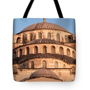 Blue Mosque Domes 02 Tote Bag