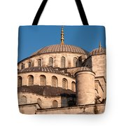 Blue Mosque Domes 05 Tote Bag