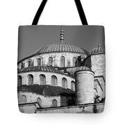 Blue Mosque Domes 06 Tote Bag