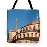 Blue Mosque Domes 07 Tote Bag