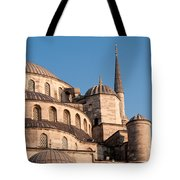 Blue Mosque Domes 08 Tote Bag