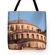Blue Mosque Domes 09 Tote Bag