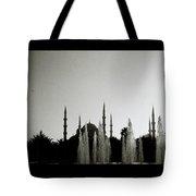 Blue Mosque Dusk Tote Bag