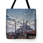 Blue Mosque In Istanbul Tote Bag