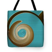 Blue Motion Tote Bag