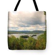 Blue Mountain Lake Tote Bag