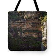 Blue Mountains Waterfall Tote Bag