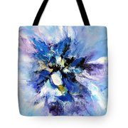 Blue Mystery Tote Bag by Isabelle Vobmann