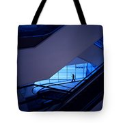 Mysterious Blue Tote Bag