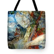 Blue Notes Tote Bag