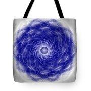 Blue Nova Tote Bag