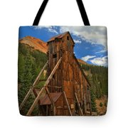 Blue Over The Yankee Girl Tote Bag