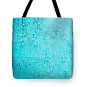 Blue Paint Background Grungy Cracked And Chipping Tote Bag