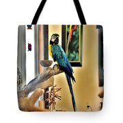 On The Perch Tote Bag