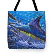 Blue Persuader  Tote Bag