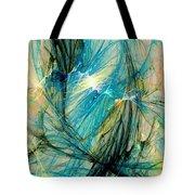 Blue Phoenix Tote Bag by Anastasiya Malakhova