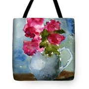 Blue Pitcher  Tote Bag